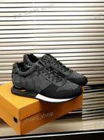 2021 패션 도착 망 캐주얼 신발 최고 품질 스니커즈 소년 럭셔리 양피 깔창 모델 운전 트레이너 크기 38-45