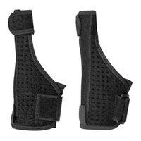 Venda quente suporte de pulso cor sólida esportes ao ar livre artrite banda cinto de pulso cinta de pulso segurança polegar protetor de mão protetor