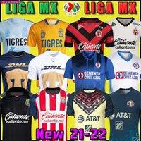 21 22 Club America Cruz Azul Soccer Jersey 2021 2022 Guadalajara Chivas 115th Tijuana Unam Tigres Home Away Terceira Liga MX Futebol Camisas Santos Laguna México Thai