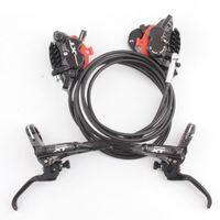 Hamulce rowerowe Deore XT BL M8000 / BR M8020 Hydraulic Disc hamulec 4 tłoki obejmują długość podkładek na tereny o lodzie 800 / 1450mm