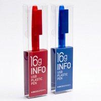 هلام أقلام Kaco القلم متعدد الوظائف مع 16G USB فلاش محرك سجل الكتابة وتخزين البيانات 2 في 1 حبر أسود 0.5MM