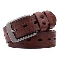 Belts High Quality Men's Antique Pin Buckle Belt Ladies Fashion Casual Pants Women Cowboy