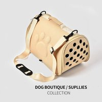 Dog Apparel Pet Carrier Bag Portable Outdoor Cat Foldable Travel Puppy Carrying Shoulder Breathable Outing Supplies