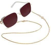 Sunglasses Frames Fashion Shell Glasses Chain Masked Gold Lanyard