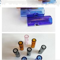Multicolour Pipes Glass Filter Tips Cigarette Holder Portable And Easy To Clean Compact Smoking Men Women 0 6sg D2