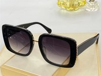 1127 Nuevas gafas de sol de moda con protección UV para las mujeres Marco de tablones cuadrados de la vendimia Popular calidad superior vienen con casos Classic Sunglasses