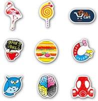 American graffiti stickers 100 trolley suitcase Skin Protectors skateboard sticker waterproof