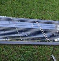 Bbq di alta qualità BBQ Grill Grill Portable Pieghevole Pieghevole in acciaio inox Stufa in acciaio inox per giardino all'aperto Family Party 139 V2