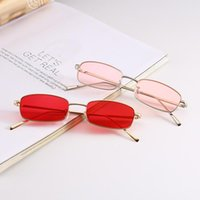 Gafas de sol 2021 UV400 Moda Vintage Shades Gafas de sol Retro Elegante Okullary Squre para hombres Mujeres Lentes