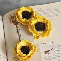 Decorative Flowers & Wreaths 1 Branch Natural Dried Poppy Material Plant Handmade Home Diy Style Dry European Flower Wedding Decoration Q2o8