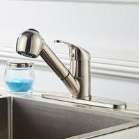 WACOキッチンバスルームのシンク蛇口、噴霧器、シングルハンドル洗面台のミキサー蛇口、洗面所の洗面器#b、ブラシ