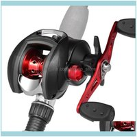 Sports & Outdoors12+1 Bb Ball Bearing 8.1:1 Bait Casting One-Way Clutch Baitcasting Reel Left Right Hand Magnetic Brake Lure Fishing Reels D
