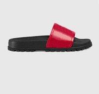 Donna / sandali uomo qualità elegante slipper moda classici classici uomini donne # 13; vitton \\ r scarpe piatte slittamento UE: 35-45 con scatola shoe02 08