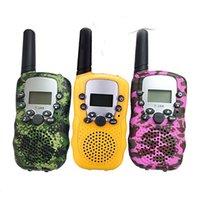 T388 Детская радио Игрушка Walkie Talkie Kids Radios Нет излучения УХФ Двухсторонняя T-388 Детская прогулка Talkies Пара для мальчиков