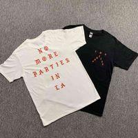 2021NEW 힙합 티셔츠 Kanye West 나는 Paul 100 % 코튼 셔츠를 좋아하지 않습니다. La Shirs 남성 여성 여성 EE OPS