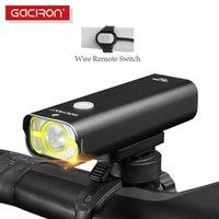 أضواء الدراجة Gaciron V9C-800 دراجة الضوء الأمامي ضوء مع سلك البعيد التبديل IPX6 للماء مجانا pro contest1