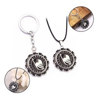 Keychains Fairy Tail Rotatable Keychain Pendant Metal Chaveiro Anime Key Ring Chain Holder For Car Bags Charm Jewelry Accessories