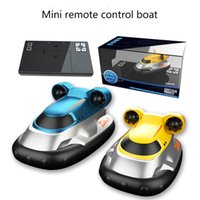 2.4G RC Boats Wireless Mini Remote Control Boat Electric Water Speed Boat Sailing Model Children Gift