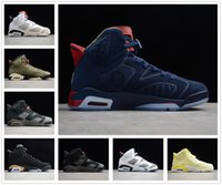 Air Jordan 6 6s retro 6 Jumpman Stock x Travis Scott 6 6s Hommes Chaussures de basket-ball 3M réfléchissant infrarouge Ducks entraîneurs des hommes de chaussures de sport