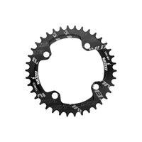 Bike Freewheels Chainwhels 104BCD Узкий широкий широкий алюминиевый сплав портативный одноразовый съемный запчасти для велосипедов Простая установка для 8 SPE