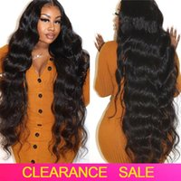 Lace Wigs Body Wave Closure Wig Free Part Preplucked 30 Inch Front Bodywave Human Hair HD Transparent Frontal On Sale