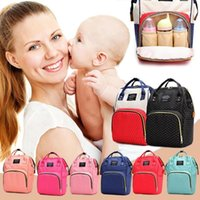 Backpack Dot Print Big Backpacks Mommy Maternity Bags Travel Baby Care Diaper