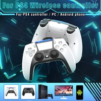 2021 hot salebluetooth Wireless Game Controller For PS4 Console 6-axis Double Vibration Game Gamepad For PC  Android Phone Joyst