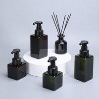 250ml Shower gel bottle Hand Soap Dispenser Pump Bottle Refillable Soap Liquid Dispenser Foam Container Bottles T2I52911