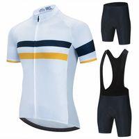 New Pro Team Cycling Clothing Men Cycling Set Bike Clothing Breathable Anti-UV Bicycle Wear Short Sleeve Cycling Jersey Setsar