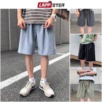 Men's Shorts LAPPSTER Men Causal Harajuku Sweat 2021 Summer Mens Japanese Streetwear Running Basketball Male Vintage 5XL