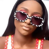 Occhiali da sole Small Small Suqare Zebra Stampa per le donne Vintage Brand Gradient Elegante occhiali da sole femminile UV400 sfumature uomo cieywear