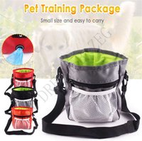 Portable Dog Training Treat Shoulder Bag Pet Puppy Snack Reward Waist Bag Dog Walking Food Pouch Detachable Pet Feed Tote Pocket