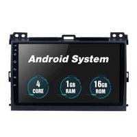 Android 10 9 pollici auto DVD Radio Touch Screen Player 1G + 16G Stereo per Toyota Prado 2007-2010 Sistema di navigazione GPS
