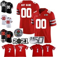 NCAA Ohio State Buckeyes Justin Campi Football Jersey 2 Chase Young Jk Dobbins 15 Elliott Stroud Fleming Dwayne Nick Bosa Archie Griffin Eddie George 150th Patch