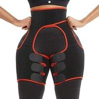 Apoio de cintura emagrecimento aparador trimmer perna cinto de borracha suor shaping cinto1