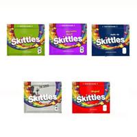 Skittles 400mg Mylar Saco Vazio Sour Zipper Bag Packaging Bolsa de embalagem EDIBLES Pacote de armazenamento de armazenamento