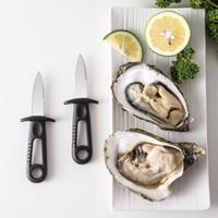 Shells Opener Oyster Knife Fresco Oyster Seafood Aposto strumento capesante coltello in acciaio inox professionale speciale shucking skushing aperto wll133