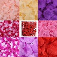 20 farben künstliche seide rose blütenblätter simulation blume hochzeit partei ehe bett mehrere farben verfügbar blume blütenblätter fwd5501