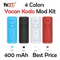 YOCAN KODO MOD 400MAH Batteria per 510 Thread Cartridge Oil Atomizer Atomizzatore Preriscaldamento Portatile VAPE Tensione regolabile al 100%