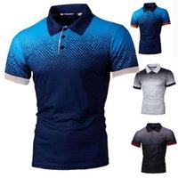 Herren Polos Camiseta de Manga Corta Para Hombre, Transpirabel, blusa Golf y Tenis, Talla Grande 5XL, Novedad, 2021