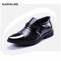 alabaling patchwork 통기성 남자 공식 신발 지적 발가락 특허 가죽 옥스포드 신발 웨딩 남자 드레스 비즈니스 MDS22 O0TL #