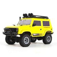 URUAV RC Car 1:24 4WD 2.4Ghz 15km h Remote Control Mini Brush Motor Crawler Model Vehicle Waterproof RTR Toys H1013