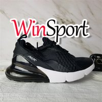 NIKE AIR MAX shoes 2019 Детская спортивная обувь Детская 27c Баскетбольная обувь Wolf Grey 270s Toddler 270 Спортивные кроссовки для девочек-мальчиков Chaussures Pour Enfant