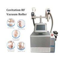 진공 슬리밍 셀룰 라이트 제거 배꼽 감소 기계 RF 적외선 가벼운 피부 강화 무선 주파수 40K Cavitation 기계 Strech Marks 치료