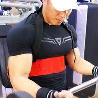 Halterofilismo braço blaster ajustável alumínio fisiculturismo fitness bíceps curl muscle treinamento bombardeiro equipamento tríceps j8p5 l0312