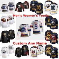Buffalo Sabers 2021 Reverse Retro Hockey Jerseys Jack Eichel Jersey Rasmus Dahlin Jeff Skinner Wayne Simmonds Sam Reinhart Custom genäht