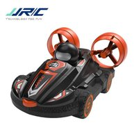 JJRC Q86 2 in einer Fernbedienung, Luftkissenfahrzeugspielzeug, Doppelmodelle von Meer, Land, einstellbarer Geschwindigkeit, Weihnachtskindergeburtstags-Boy-Geschenk, 2-1