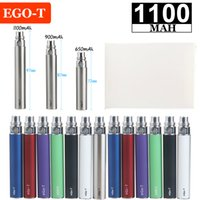 eGo-T 1100mAh Vape Pen Battery E Cigarette Batteries 510 Threading 10 Colors for Electronic Cigarettes Vapes Atomizer Vaporizers