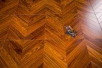 Giallo Africano Kosso Chevron Fishbone ingegnerizzato in legno pavimentazione in legno pavimento in parquet tele da parati modello decorazione della casa Decorazione Art Backdrops Wall Decal
