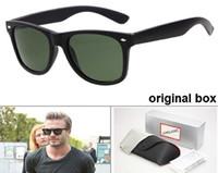 New2021 جودة عالية جديد راي الرجال النساء النظارات الشمسية خمر الطيار العلامة التجارية الشمس نظارات الفرقة uv400 حظر بن النظارات الشمسية مع مربع والحالة 2140 r6